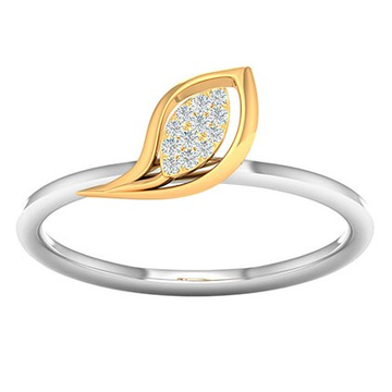 18k gold real diamond ring mga - rdr004