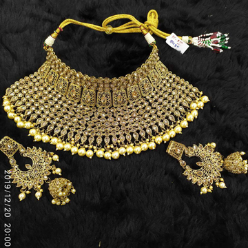 Beautiful Bridal Collar Set#957