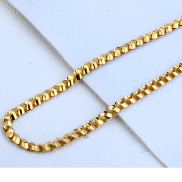 916 Gold Fancy Choco Chain MCH178