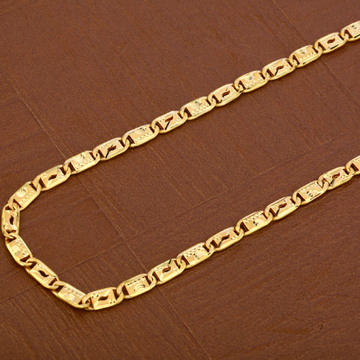 Mens 22K Gold Chain-MNC33