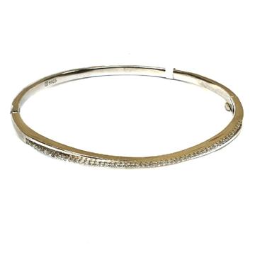 925 sterling silver lining diamond bracelet mga - krs0119
