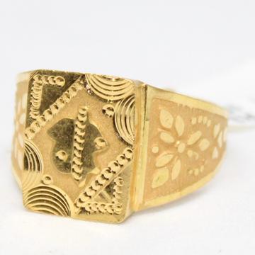ring 916 hallmarl gold -6741 by
