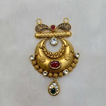 91.6 Antique Gold Mangalsutra Pendant