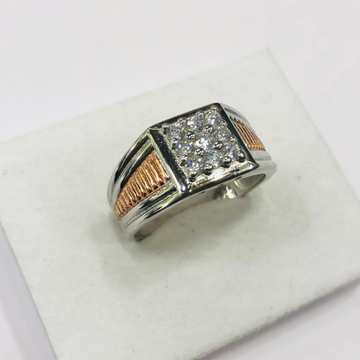 925 silver ring square of diamond ring