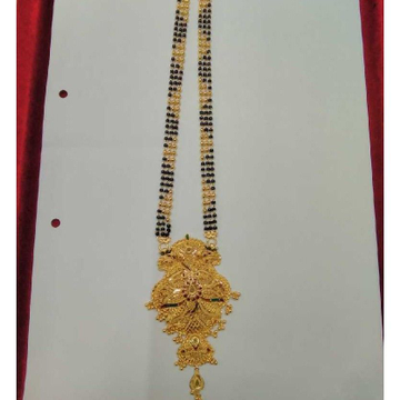 Attractive 916 Gold Magalsutra by Samanta Alok Nepal