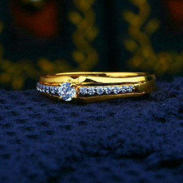 Sparkal Fancy Cz Ladies Ring LRG -0227