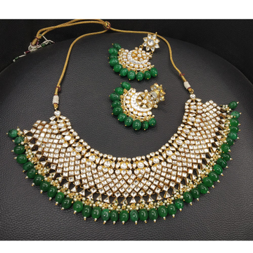 Fancy Bridal Kundan Necklace Set
