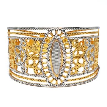 One gram Gold Forming cnc bracelet mga - bre0049