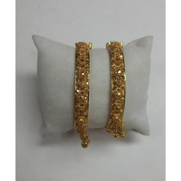 916 Gold Ghughri Bangles by Shri Datta Jewel