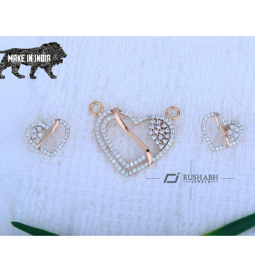 18kt Rose Gold mangalsutra Pendal  RH-MSP 006