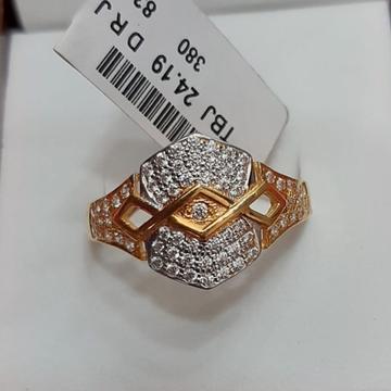 916 gold cz fancy ring tbj-r01 by