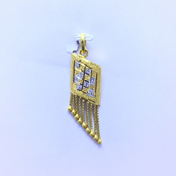 FANCY LATKAN GOLD PENDANT by