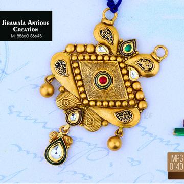 916 Gold Antique Pendant MPG-0140