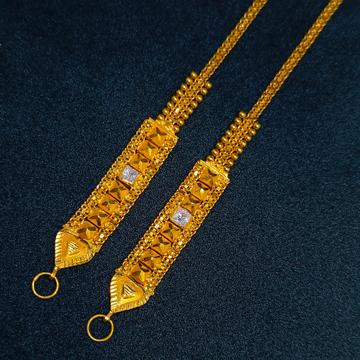 22K Gold Hallmark Kalkati Design Kanser by Ghunghru Jewellers