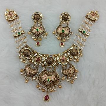 916 GOLD ANTIQUE BRIDAL COLLECTION SET by Ranka Jewellers