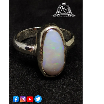Silver opal stone rings RH-RB368