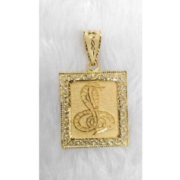 Gents goga maharaj gold pendant