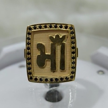 916 gold fancy gent's માઁ ring
