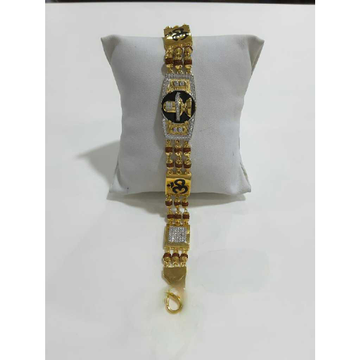 22k Gents Gold Rudraksh Lucky G-10154