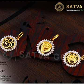 916 gold pendants SGP-0010