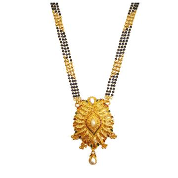 916 Gold Kalkatti Stylish Designer Mangalsutra MGA - GM054