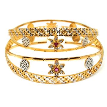 1 gram gold forming bangles mga - gf0046