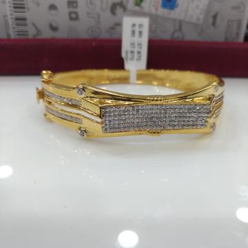 916 Gold cz bracelet
