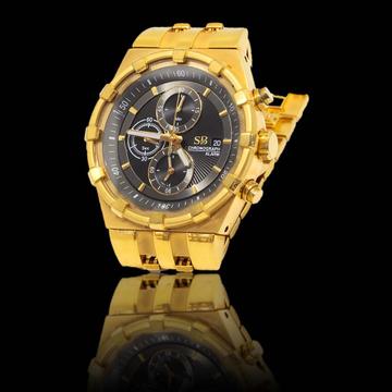 916 gold Watch For Men by S B ZAWERI
