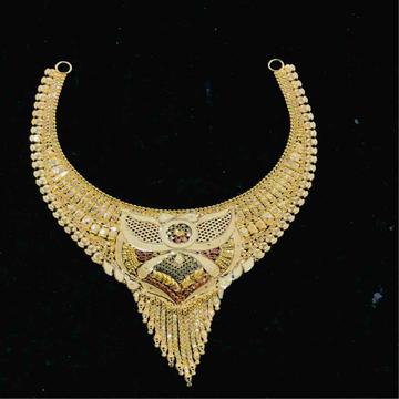18ct exclusive ladies necklace by Prakash Jewellers