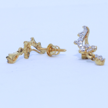 22KT/ 916 Gold fancy earring for best Anniversary gift for Ladies BTG0087