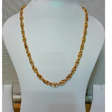 22k Gents Fancy Lotus Chain G-6413