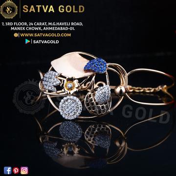 76 ROSE GOLD KADA SGK-0017