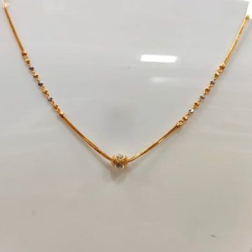 22 Carat gold LADIES  FENCY CHAIN RH_CH117