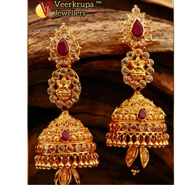 916 gold earrings with zummer by