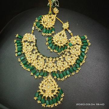bridal necklace set#bdns003