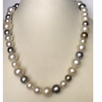 Multi colour south sea pearls strand