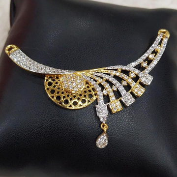 916 Gold 22kt Diamond Mangalsutra Pendal RH-MSP27
