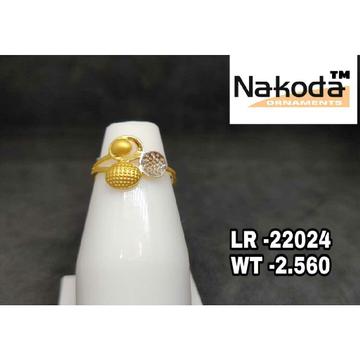 22K Ladies Plain Gold  Ring