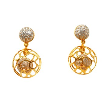 22K Gold Modern Earrings MGA - BTG0222