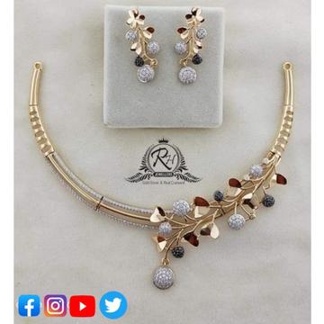 22 carat gold classical ladies set RH-NS370