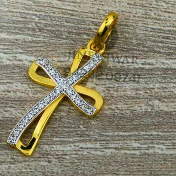 916 Special Occation Were Cz Cross Pendant