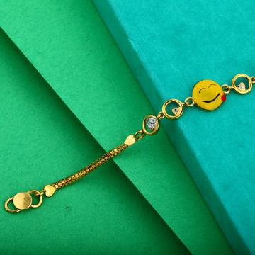 Kids Gold Cz Bracelet-KB13