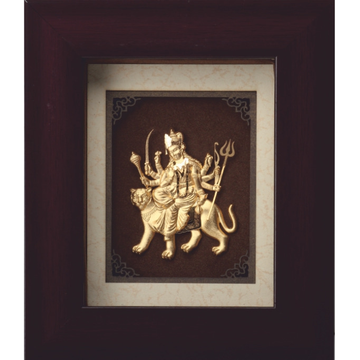 Mini Solid Durga Maa Frame by