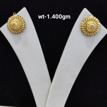 916 Gold Plane Earrings by
