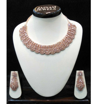 Rose designed party wear 1 gram necklace