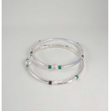 Silver Casting Fancy Bangles. NJ-B01045