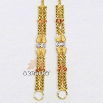 Gold Earchain SK - K015