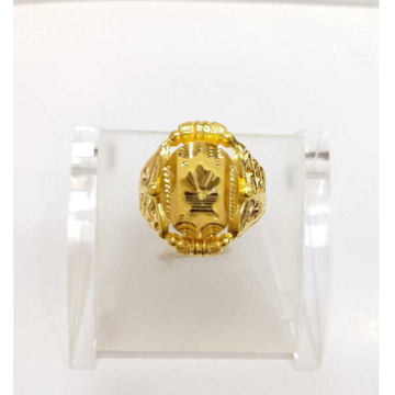 760 gold jalpari gents ring RJ-J002