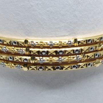 22kt 4pis latest copper kadli by V.N. Jewellers