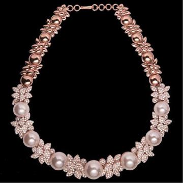 Diamonds and Pearls NecklaceJSJ0121